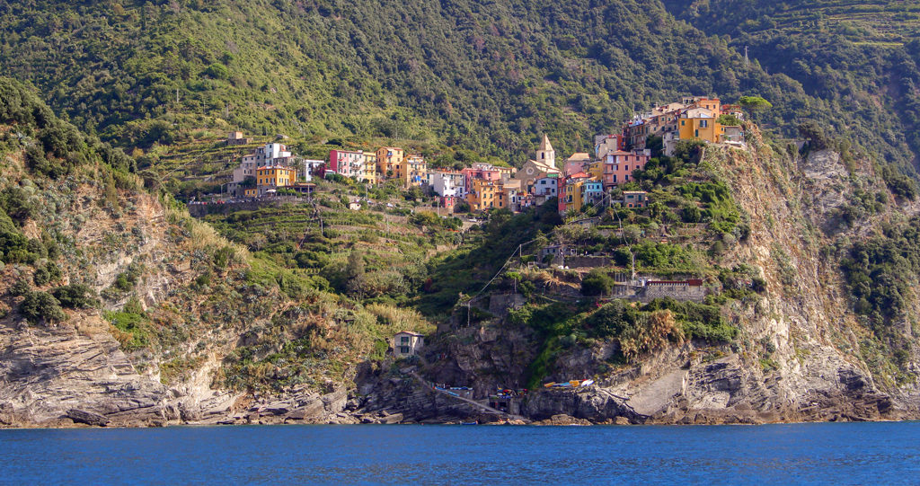 One of the 5 towns in Cinque Terre, Italy.