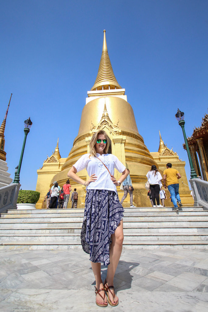 At the Grand Palace, Bangkok, Thailand