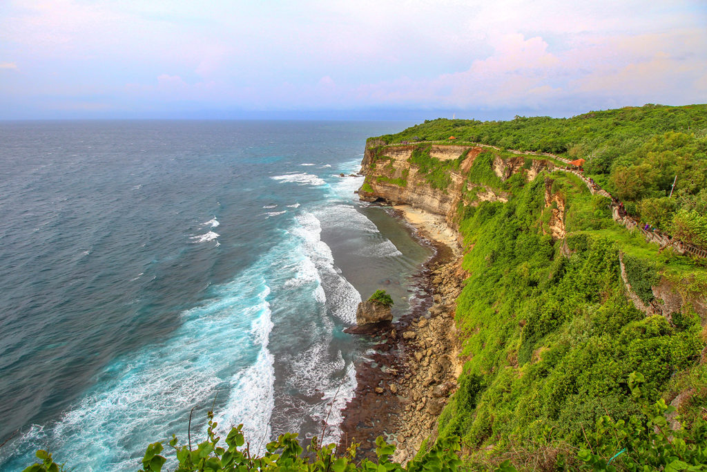 Another shot from atop Uluwatu Temple.