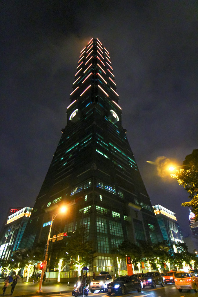 And, of course, 101 Taipei, the tallest building in Taiwan with, reportedly, the world's fasted elevator. Our ears were quickly clogged on the way down!